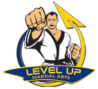 Level Up Martial Arts Logo